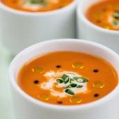 These healthy soup recipes will keep you full but not bloated.