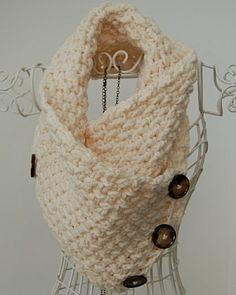 crochet pattern - lattice neck warmer