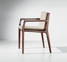 The refined proportions of Revo seating connote both the heritage of American woodcraft and contemporary technology. With its svelte silhouette, crisp edges, and elegant angles, it is a fresh component in modern environments. Wooden Office Chair, Chair Design Wooden, Office Chairs, Industrial Dining Chairs, Outdoor Dining Chairs, Wooden Dining Chairs, Contemporary Dining Chairs, Modern Chairs, Log Furniture