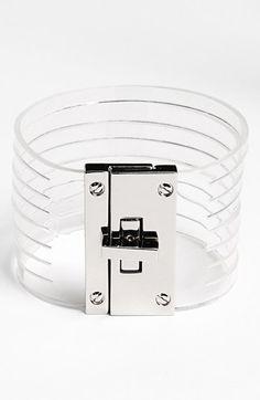 Cara Couture Transparent Cuff