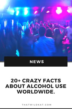 1. When you blackout  you brain actually temporarily suffers from amnesia and looses the ability to form memories.  2. Alcohol plays a role in 40 % of violent crimes, and in almost 50% of sexual assaults.  3. 20% of people dealing with social anxiety disorder suffer from alcohol dependency.  Click on the link to read more! Alcohol Facts, Social Anxiety Disorder, Alcohol Content, Violent Crime, Amnesia, Your Brain, Weird Facts, Disorders, Plays