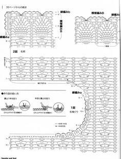 Crochetemoda: Colete de Crochet