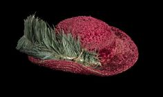 Bristowe hat - said to have belonged to Henry VIII, who tossed it into the air at the fall of Boulogne. Now on display at Hampton Court.