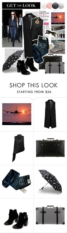 """""""Celebrity Airport Style 2015 09 03"""" by goodgame-1 ❤ liked on Polyvore featuring Ganz, Vero Moda, chikimiki, Globe-Trotter, True Religion, Kate Spade and Chinese Laundry"""