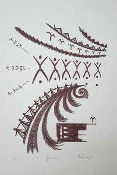 Fiona - Fatu Feu'u Art Gallery, Artsy, Culture, Models, Tattoos, Drawings, Painting, Design, Maori