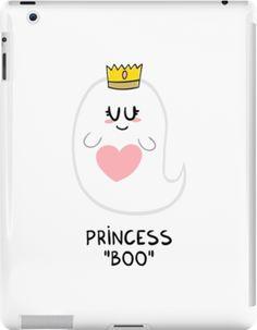"'Princess ""Boo""' iPad Case/Skin by Adrian Serghie"