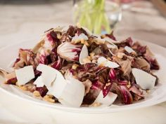 Get Grilled Radicchio with Ricotta Salata Recipe from Food Network
