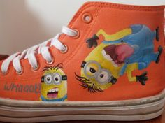 Hand Painted Despicable Me Minion Shoes