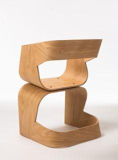 Holz Lounge Stuhl BOB