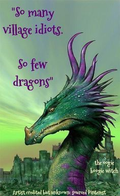 Aqua and magenta dragons are water beasts but can also exist in mountains. They can fly farther than any other dragon and are friend to man. Their weapon is their ability to breath poisonous gas which at their will can kill you or just put you to sleep. Magical Creatures, Fantasy Creatures, Dragon Medieval, Dragon Oriental, Dragon Quotes, A Dance With Dragons, Dragon's Lair, Dragon Pictures, Mythological Creatures