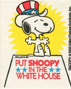 snoopy for pres