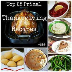 25 primal thanksgiving recipes