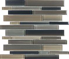 #backsplash. Great variation in color, shade, length, width.