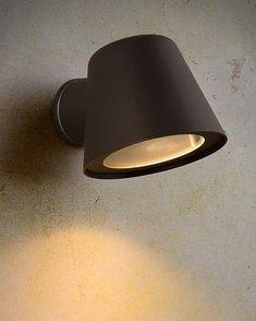 Lucide Dingo - buiten wandlamp - x x 9 cm - dimbare LED incl. Led Outdoor Wall Lights, Led Wall Lights, Outdoor Walls, Applique Led, Lumiere Led, Luz Led, Led Lamp, Interior Design Living Room, Lightning