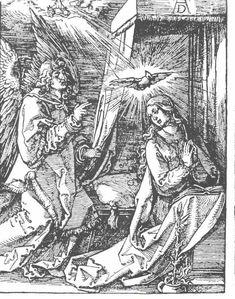 Dürer - Die Verkündigung an Maria - Albrecht Dürer - Wikimedia Commons