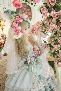橘玄叶MACX邪. Lolita Fashion In, Quirky Fashion, Japan Fashion, Lolita Fashion, Cute Fashion, Estilo Lolita, Harajuku Fashion, Kawaii Fashion, Mode Lolita