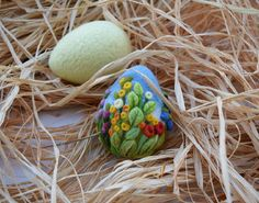 Easter Felted Eggs Easter Decoration Easter Gift by LifeandWool