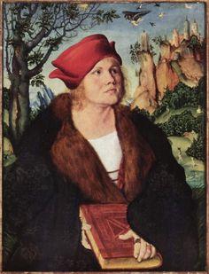 Porträt des Dr. Johannes Cuspinian Lucas Cranach el Viejo