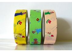 Folk Fashion Duck Flower Japanese Washi Tape