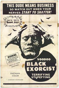 ronaldcmerchant:  VOODOO BLACK EXORCIST (1973)