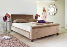 Rennes Kingsize Tempur bedstead is the perfect Tyrell bed. It's beautiful, spacious and glamorous whilst remaining incredibly stylish and comfortable #GoT #GameofThrones #fashion #home #bed #trends #style #inspiration #HouseFV
