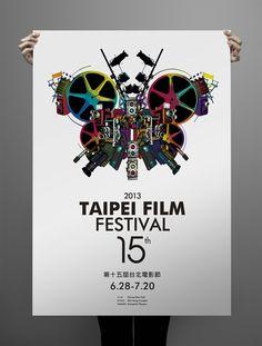 2013 Taipei Film Festival / Poster Design on Behance