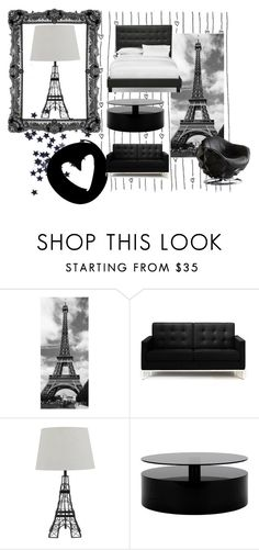 """""""Paris themed bedroom"""" by barnhillmadison on Polyvore featuring interior, interiors, interior design, home, home decor, interior decorating, Rove Concepts, Andrew Martin and bedroom"""
