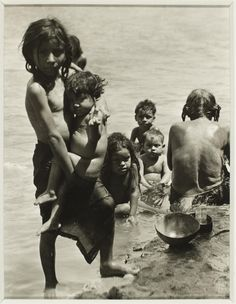 TINA MODOTTI Italian, Children bathing in river ca. 1929 Gelatin silver print x cm. Legacy Collection, Museum Collection, Waving Gif, Tina Modotti, Gelatin Silver Print, Monochrome, Bathing, Waves, Children