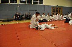 Aikido Kyuprüfungen in Linz Urfahr (Oberösterreich) im Dezember 2015 – Nikkyofixierung
