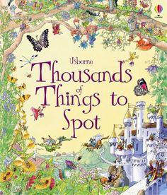 """Thousands of things to spot"" at Usborne Children's Books Puzzle Books, Fairy Land, Paperback Books, Book Lists, Childrens Books, Vintage World Maps, Monsters, This Book, Blog"