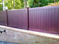 Vinyl Privacy Fence