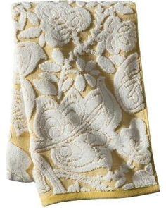 Floral Bath Towel