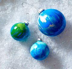 Swirly Ball Ornaments Clinton Kelly