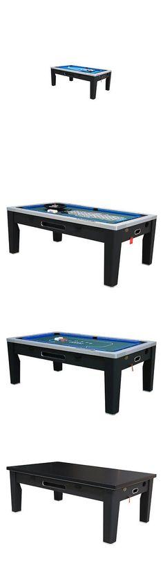 Other Indoor Games 36278: Berner Billiards 6 In 1 Multi Game Table Black  U003e