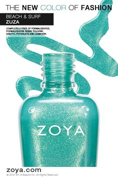 RE-PIN ME! Zoya Nail Polish in Zuza from the Surf Collection