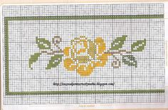 Layette Cross Stitch by Nubia Cortinhas: floral cross stitch chart Beaded Cross Stitch, Cross Stitch Borders, Cross Stitch Rose, Cross Stitch Flowers, Cross Stitching, Cross Stitch Embroidery, Cross Stitch Patterns, Learn Embroidery, Embroidery Patterns