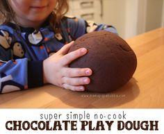 Super Simple No-Cook Chocolate Play Dough ‹ Mama. Papa. Bubba.Mama. Papa. Bubba.