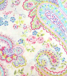 Keepsake Calico™  Cotton Fabric-Florals And Paisley