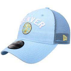 new product 1a1a9 a882e Men s Denver Nuggets New Era Light Blue Rugged Canvas 9TWENTY Snap 2  Adjustable Hat,