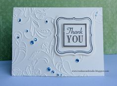 Card Making Connections - Thank You - Ivanka Card 1