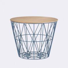 Plateau panier naturel Wire basket Ferm living Medium