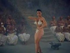 Debra Paget doing the snake dance in Fritz Lang's INDIAN TOMB, You need to remember that her film roles had all been conservative. This was bordering on pornographic for the time! Dance, German Movies, Shakira Belly Dance, Belly Dancing Workout, Movies, Film, Popular Music, Paget, Movies Showing
