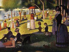 George Seurat- A Sunday on La Grande Jatte