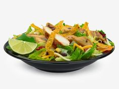 10 Seriously Healthy Fast-Food Meals: McDonald's: Premium Southwest Salad  http://www.prevention.com/food/healthy-eating-tips/healthy-fast-food?s=5&?cm_mmc=ABCNews-_-10%20Gross%20Food%20Trends%20To%20Avoid-_-Slideshow-_-10%20Seriously%20Healthy%20Fast%20Food%20Meals