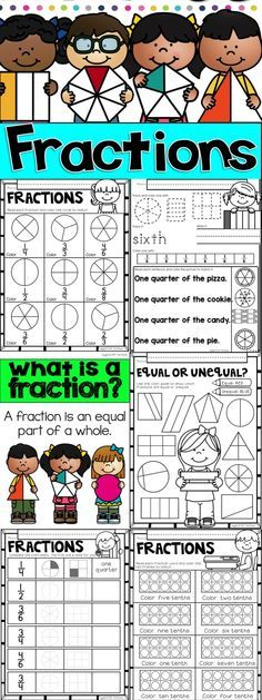 Let's Learn About Fractions by Tweet Resources. This easy to use NO PREP is a great introduction to teaching fractions in your primary classroom. This package includes 2 anchor charts, and 24 printables that cover the basics of fractions.