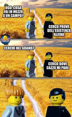 Non lo capita Thumbs Up Funny, Lego Humor, Funny Images, Funny Pictures, Serious Quotes, Dont Forget To Smile, Lol, Legoland, Funny Fails