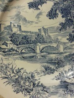 Check out this item in my Etsy shop https://www.etsy.com/listing/230350684/enoch-wedgewood-countryside-dinner-plate