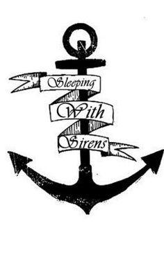 Sleeping With Sirens Anchor Logo | You Be The Anchor (Kellin Quinn)