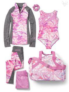 Gymnastics suits