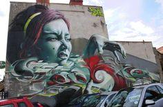 Street Art a lo bestia! :)